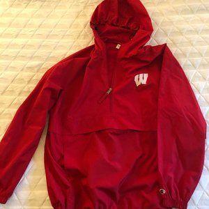 Wisconsin Badgers Champion Rain Coat